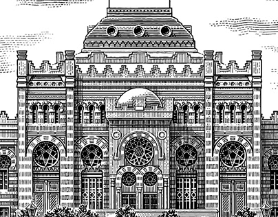 Various architectural illustrations