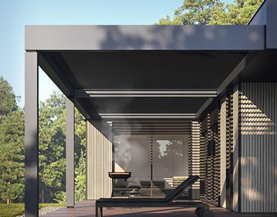 Визуализация модульного дома 135 м кв.