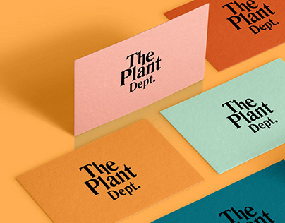 The Plant Dept. | Visual Identity