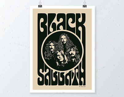 Black Sabbath Print