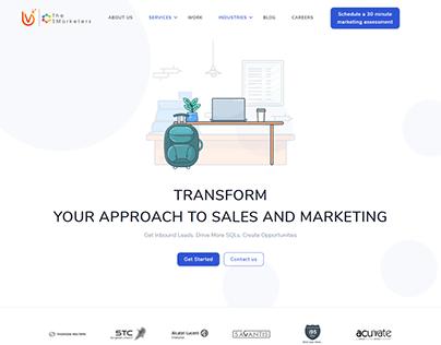 The SMarketers Website Rehash.