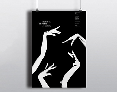 Posters for Bolshoy Theater Moscow