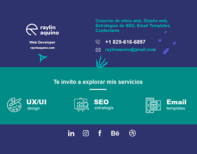 Creative Email Signature by Raylin Aquino