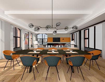 Renderings for Axis Mundi Design(414 Washington Street)