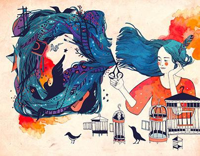 Акварельные сказки | Watercolor Fairy Tale