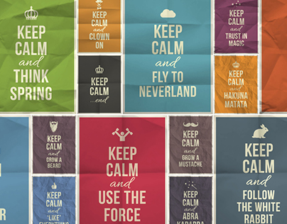 KEEP CALM / posters