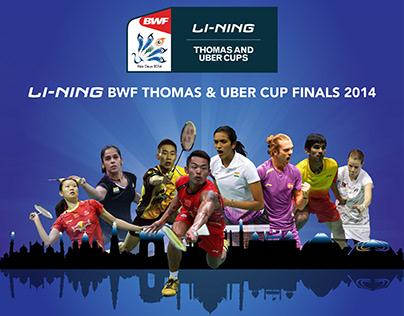 Thomas & Uber Cups 2014 Identity Design & Branding