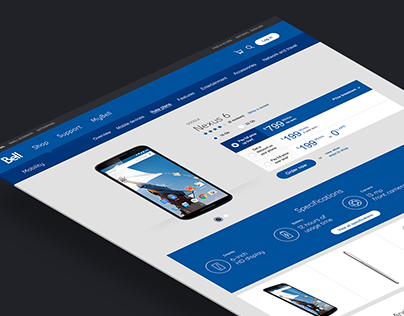 bell.ca redesign