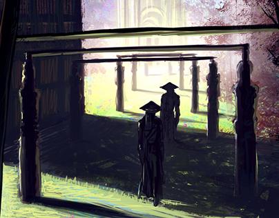 Shadow duel