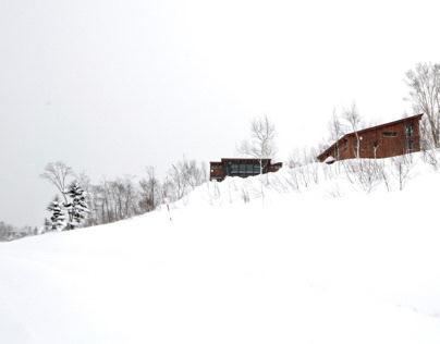 the three holiday houses in niseko, hokkaido