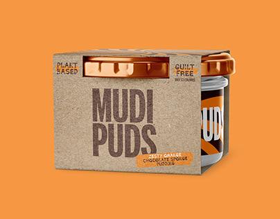 Mudi Puds - Branding & Packaging