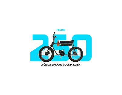 Site Feline 250 - A Única Bike que Você Precisa