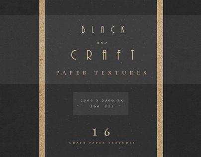 Black & Brown Fine Art Paper