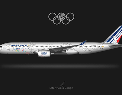 Air France A350 special liveries