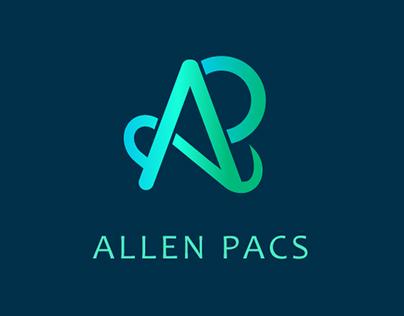 Allen Pacs logo Design