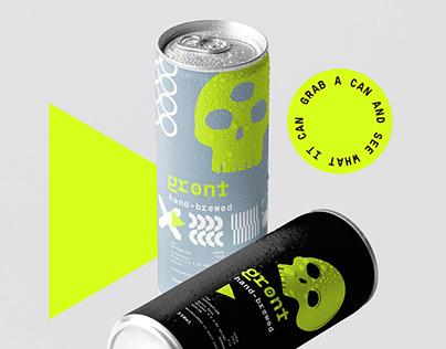 Gront Beer Packaging Design