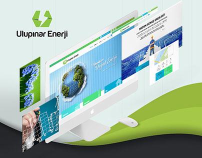 Ulupınar Enerji - Web Design
