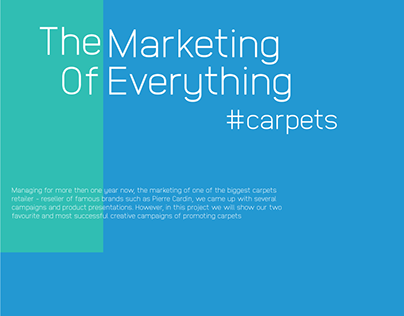 The Marketing Of Everything - Carpets