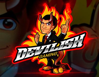 Devilish Gaming Mascot Logo