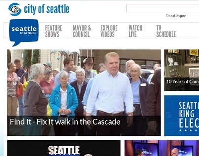 Seattle Channel redesign