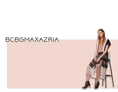 Ambigram X BCBGMaxazria