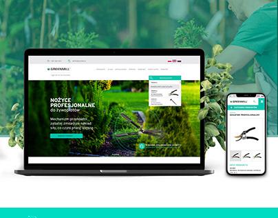 Greenmill - web design and development