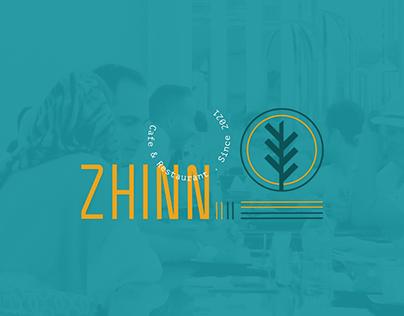Zhinn Cafe & Restaurant's Branding