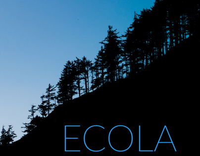 Ecola Park vacation poster