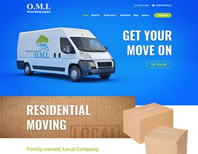 Ottawa Moving Logistics Website Design