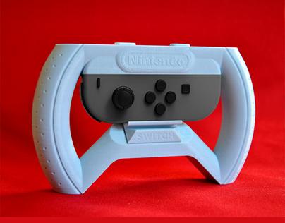 3D Printed - Nintendo Switch Joy-Con Wheel Accessory