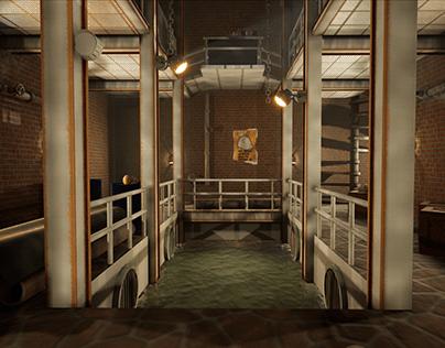 3D Game Art Environment - TimeSplitters: Future Perfect