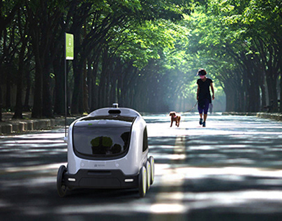 YOUSHI-Unmanned Delivery Robot