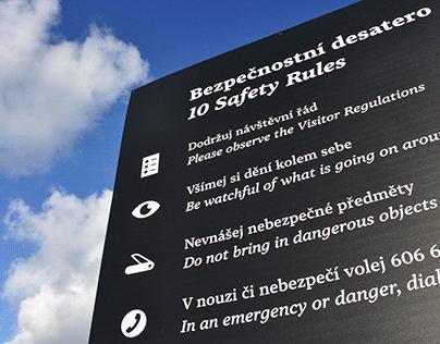 Bezpečnostní desatero – Památník Terezín