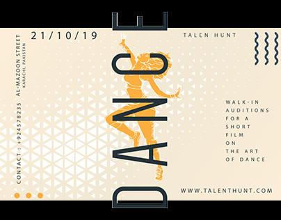 Talent Hunt - Minimal Banner