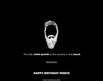 Birthday Modiji
