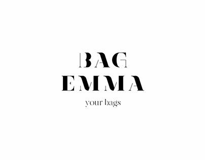Разработка логотипа для магазина сумок BAGEMMA
