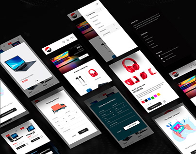 MG Store Website Design