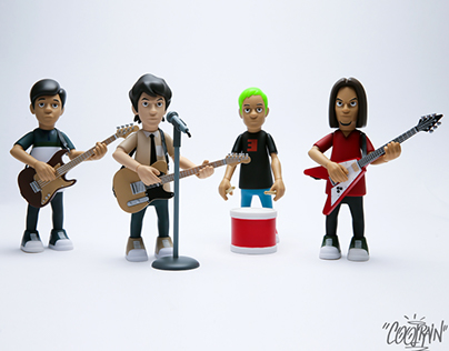 Eraserheads Art Toy