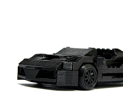 3D printed Lego