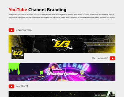 YouTube Channel Rebrands