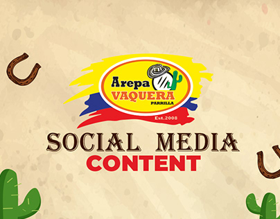 contenido de redes sociales para arepavaquera Oneline