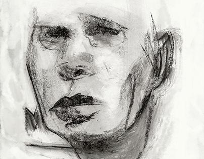 Faccette (Charcoal Sketch)