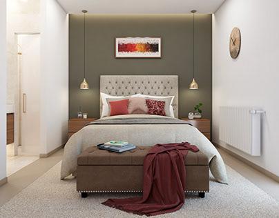 Master Bedroom - 3d Viz