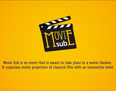 MovieSub events Prototype