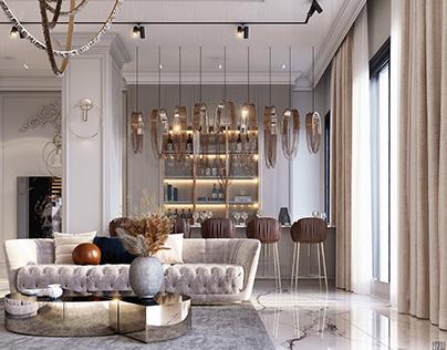 Luxurious Main Reception Area & Dining