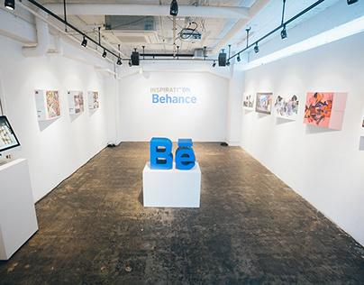 """Inspiration on Behance"" 日本のクリエイター名鑑 Gallery Exhibition"