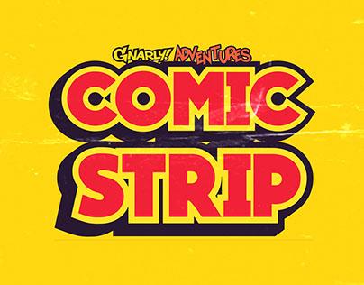 Gnarly! Adventures Comic Strip