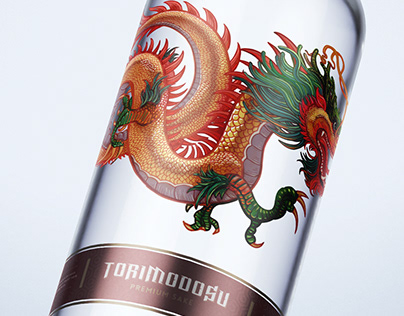 Torimodosu Sake Label Design