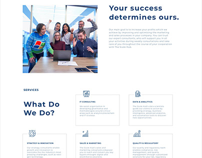 Business Consulting Company | UX / UI Design