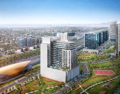 برج أورا السكني. دبي جبل عليا اسعار تبدأ من 450 الف